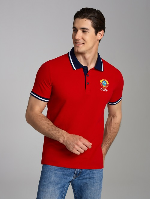 polo ussr  red L