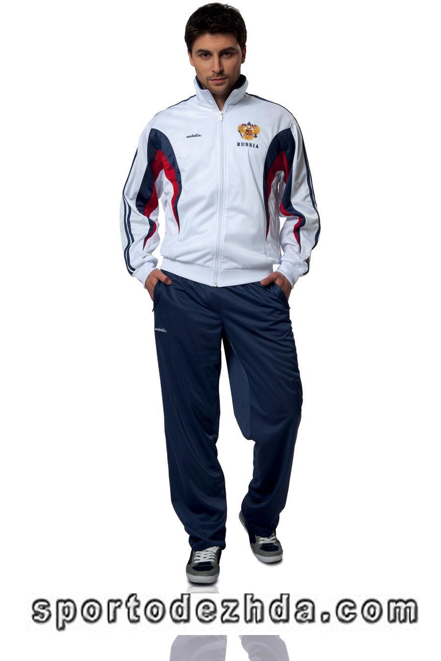 Спортивный костюм мужской белый