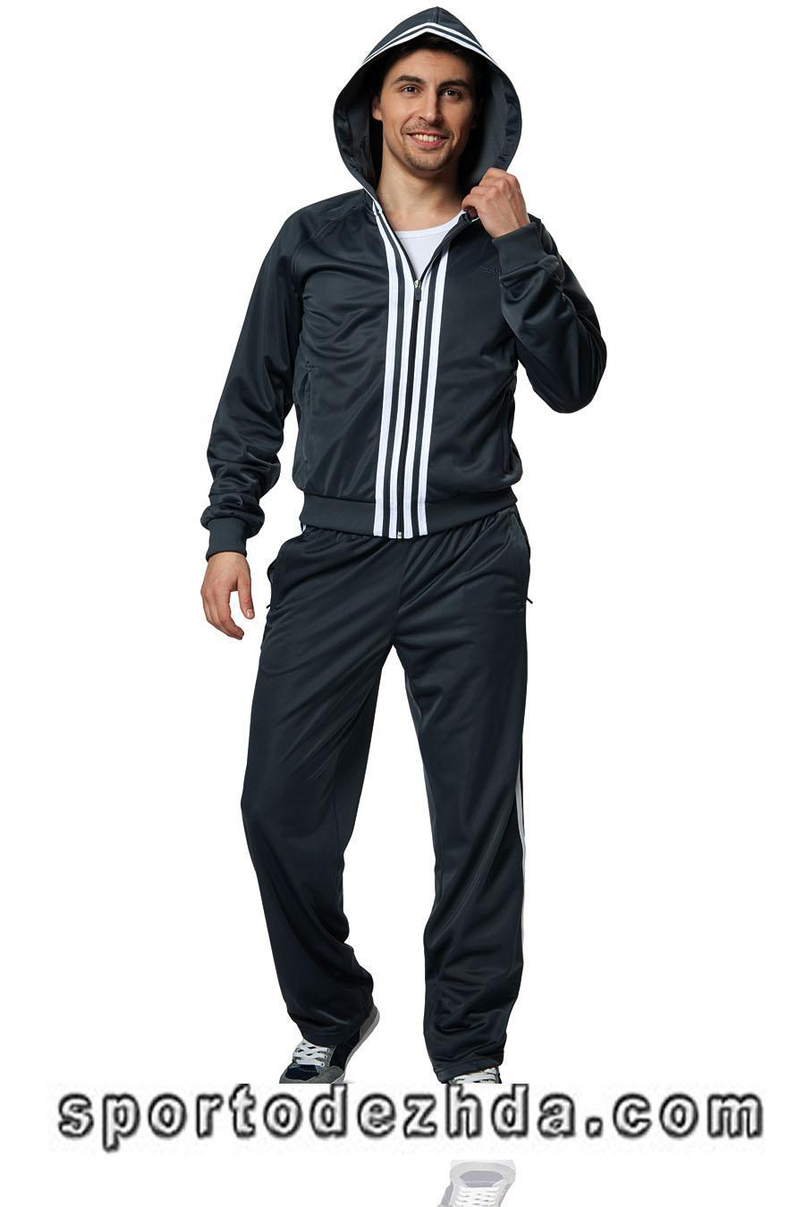 Купить серый мужской костюм 3