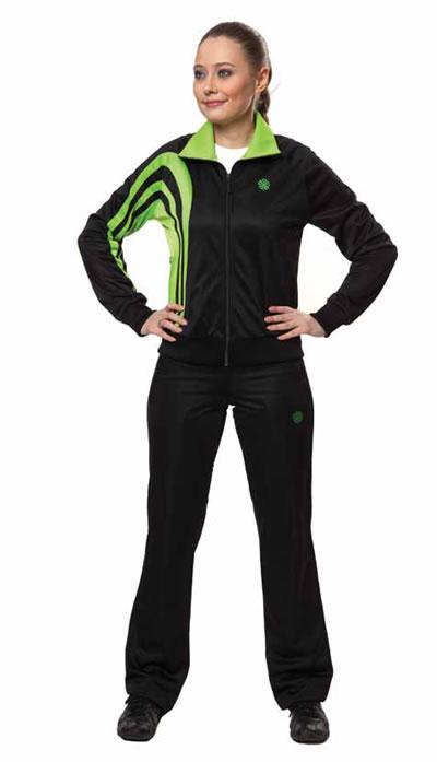 Спортивный костюм бони зеленый